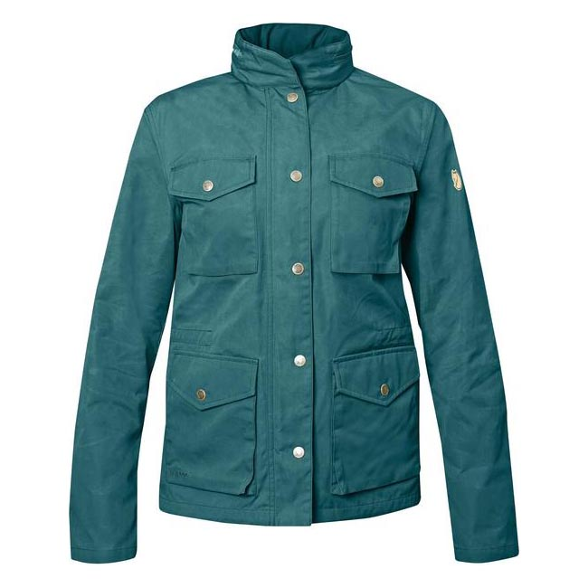 Women Fjallraven RÄVEN WOMEN'S JACKET FROST GREEN Outlet Online