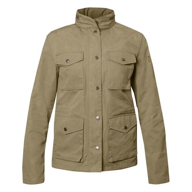 Women Fjallraven RÄVEN WOMEN'S JACKET SAND  Outlet Online
