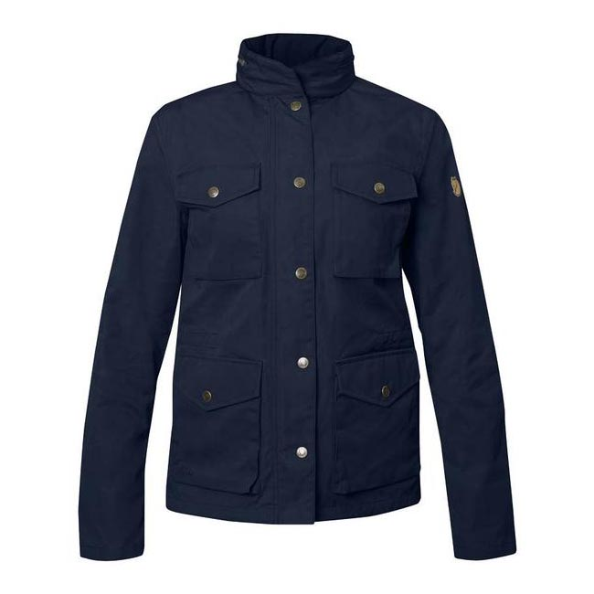 Women Fjallraven RÄVEN WOMEN'S JACKET DARK NAVY  Outlet Online