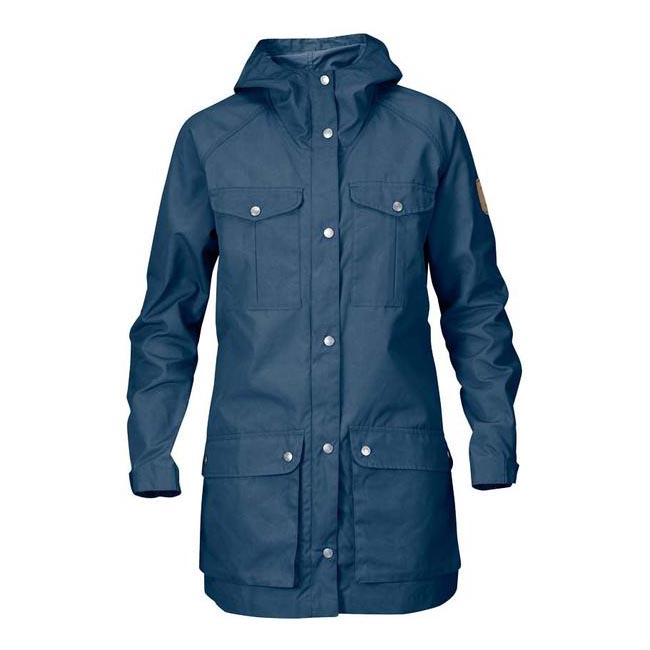 Women Fjallraven GREENLAND PARKA LIGHT W UNCLE BLUE Outlet Online