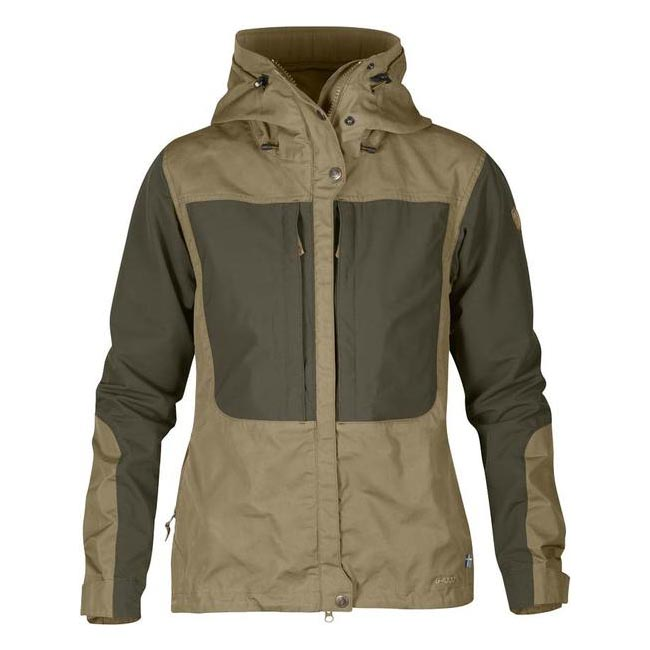 Women Fjallraven KEB WOMEN'S JACKET SAND Outlet Online