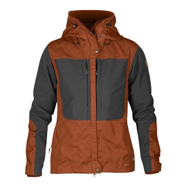 Women Fjallraven KEB WOMEN'S JACKET AUTUMN LEAF Outlet Online