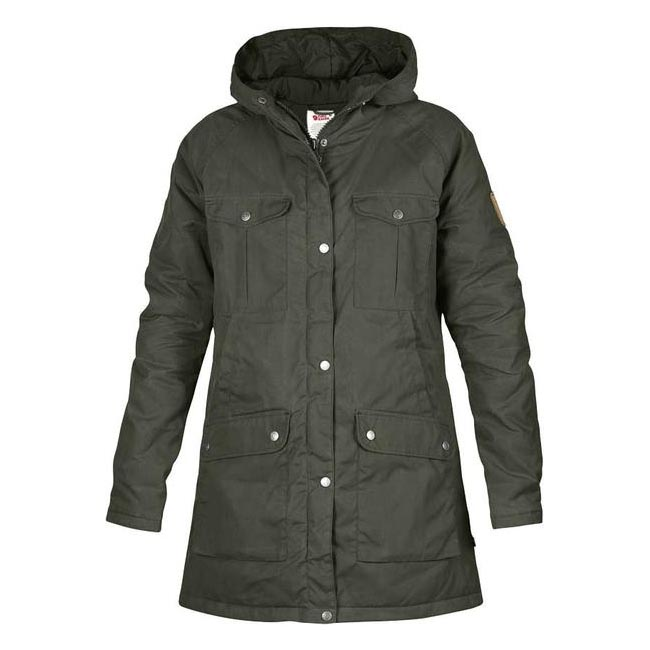Women Fjallraven GREENLAND PARKA (W) MOUNTAIN GREY Outlet Online