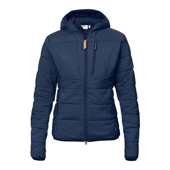Women Fjallraven KEB PADDED HOODIE W BLUEBERRY  Outlet Online