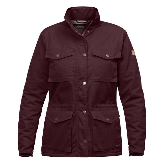 Women Fjallraven RÄVEN WINTER JACKET W DARK GARNET  Outlet Online