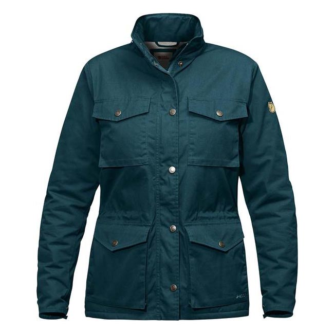 Women Fjallraven RÄVEN WINTER JACKET W GLACIER GREEN  Outlet Online