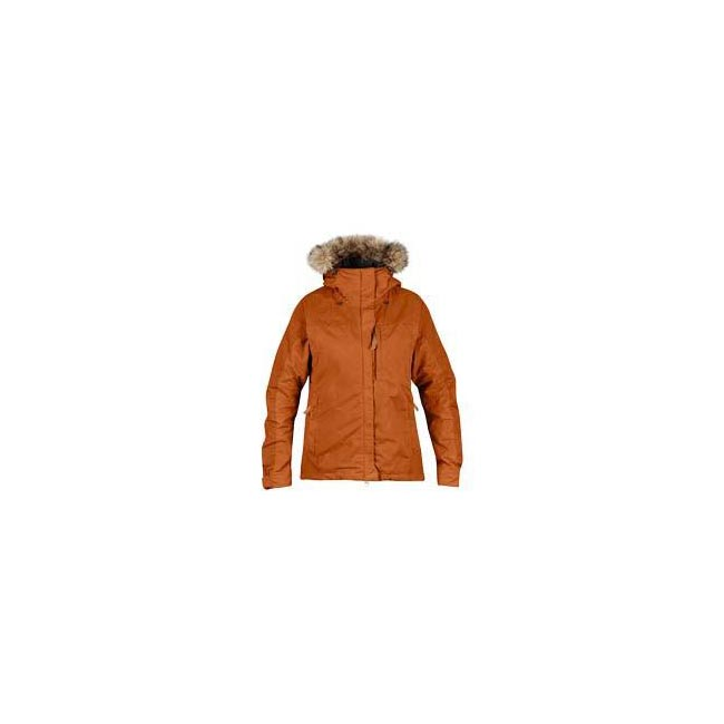 Women Fjallraven SINGI PADDED JACKET W AUTUMN LEAF  Outlet Online