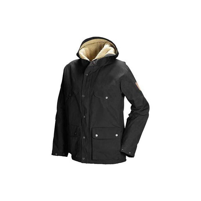 Cheap Fjallraven Women BLACK  GREENLAND WINTER JACKET W Online