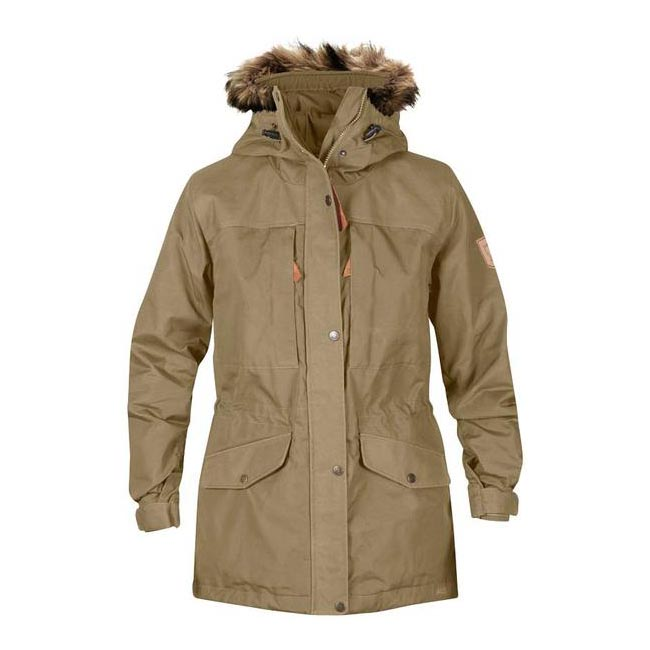 Women Fjallraven SINGI WINTER JACKET W SAND Outlet Online