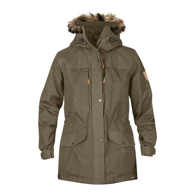 Women Fjallraven SINGI WINTER JACKET W TAUPE Outlet Online