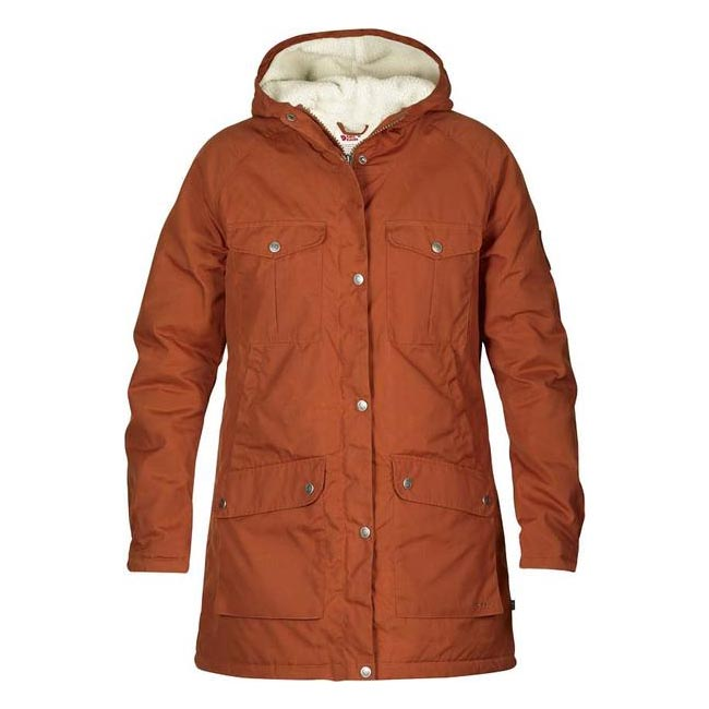 Women Fjallraven GREENLAND WINTER PARKA W AUTUMN LEAF  Outlet Online