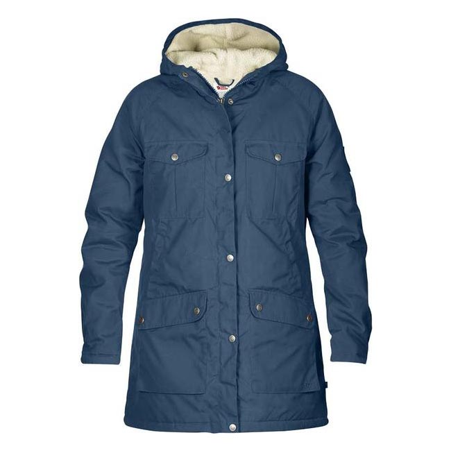 Cheap Fjallraven Women UNCLE BLUE  GREENLAND WINTER PARKA W Online