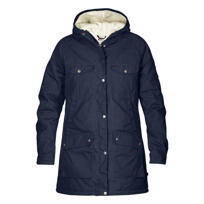 Women Fjallraven GREENLAND WINTER PARKA W DARK NAVY  Outlet Online