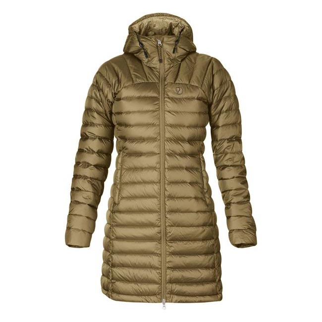 Women Fjallraven SNOW FLAKE PARKA SAND  Outlet Online