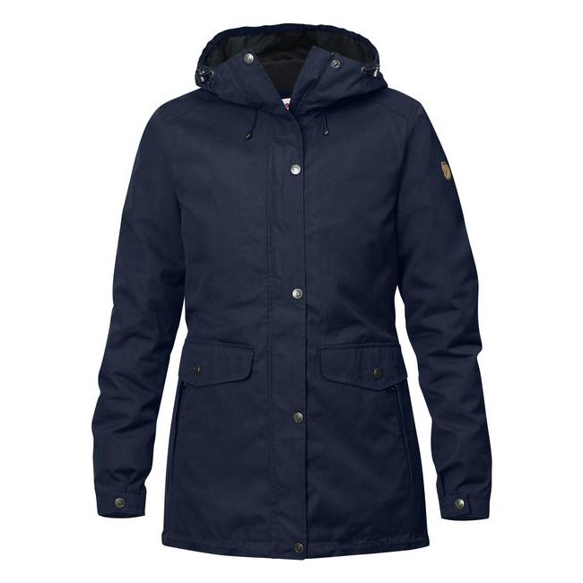 Cheap Fjallraven Women DARK NAVY  ÖVIK 3 IN 1 PARKA W Online