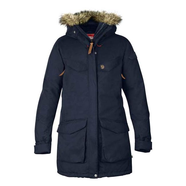 Cheap Fjallraven Women DARK NAVY  NUUK PARKA Online