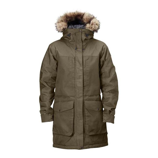 Cheap Fjallraven Women TAUPE BARENTS PARKA W Online