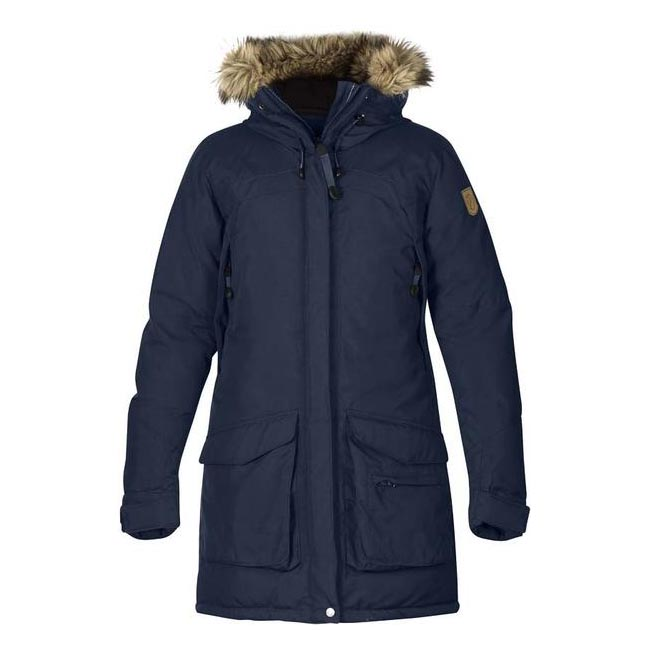 Women Fjallraven KYLA DOWN PARKA DARK NAVY Outlet Online