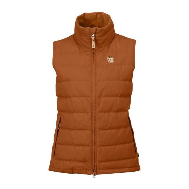 Women Fjallraven OVIK LITE VEST W AUTUMN LEAF  Outlet Online