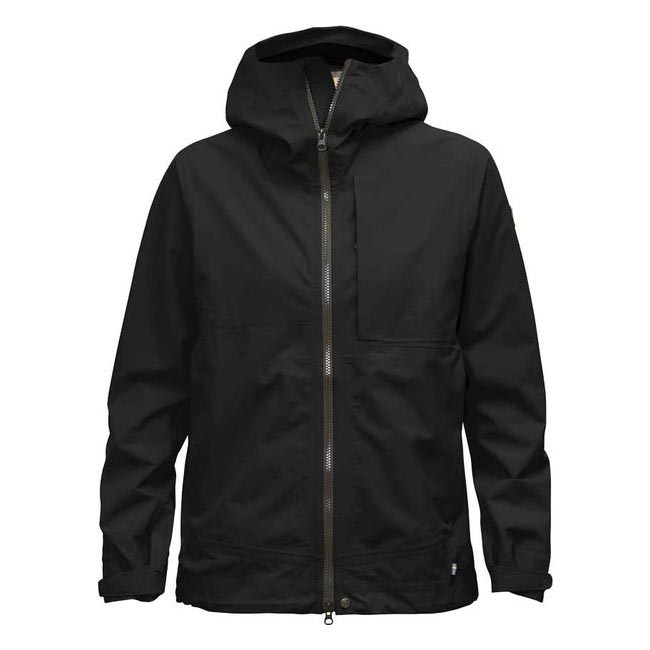 Women Fjallraven ABISKO ECO-SHELL JACKET W BLACK Outlet Online