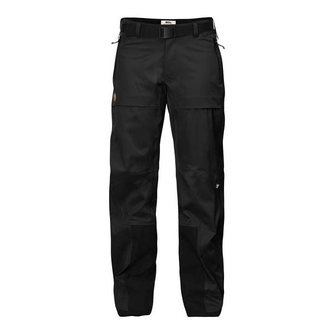 Women Fjallraven KEB ECO-SHELL TROUSERS W BLACK Outlet Online