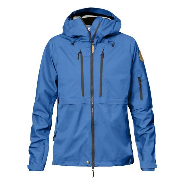 Fjallraven Women KEB ECO-SHELL JACKET W UN BLUE  On Sale