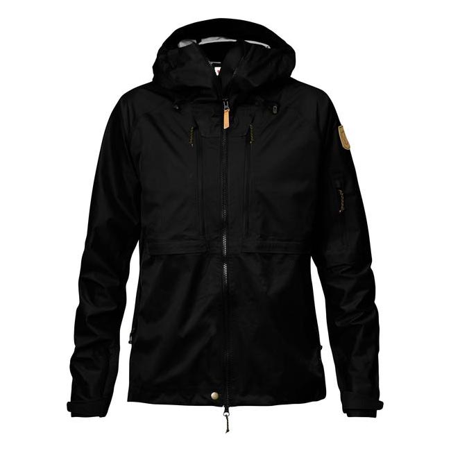 Fjallraven Women KEB ECO-SHELL JACKET W BLACK  On Sale
